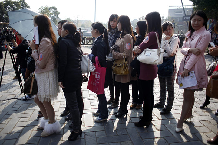 Speed dating in China in pictures