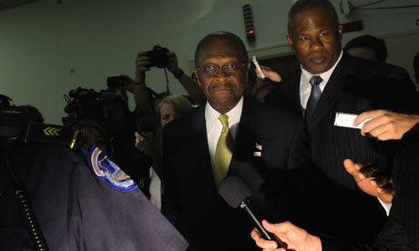 Herman Cain on Capitol Hill