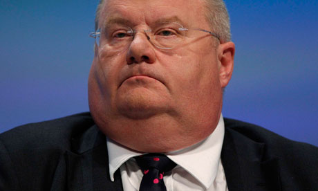 Communities and local government secretary Eric Pickles.