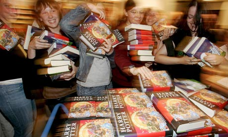 Harry Potter book launch in Frankfurt