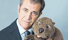 Mel Gibson and The Beaver