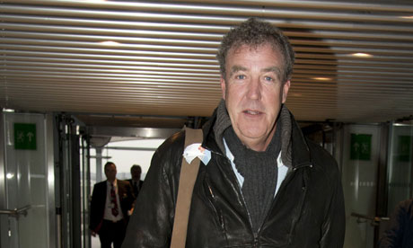 On the offensive: Jeremy Clarkson.