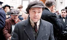 Stephen Graham as Al Capone in Boardwalk Empire.
