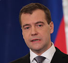 Dmitry Medvedev delivers his state of the nation address