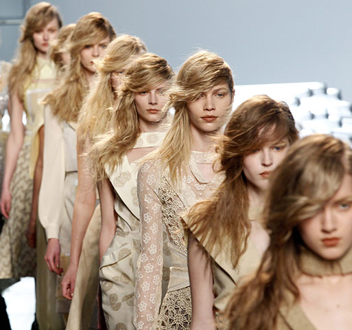 New York Fashion Week: Creations at the Rodarte collection