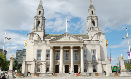 Leeds civic hall front