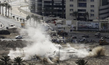 Pearl Square statue in Manama demolished