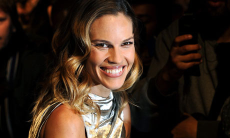 H Swank Movies Q ampA Hilary Swank  Life and