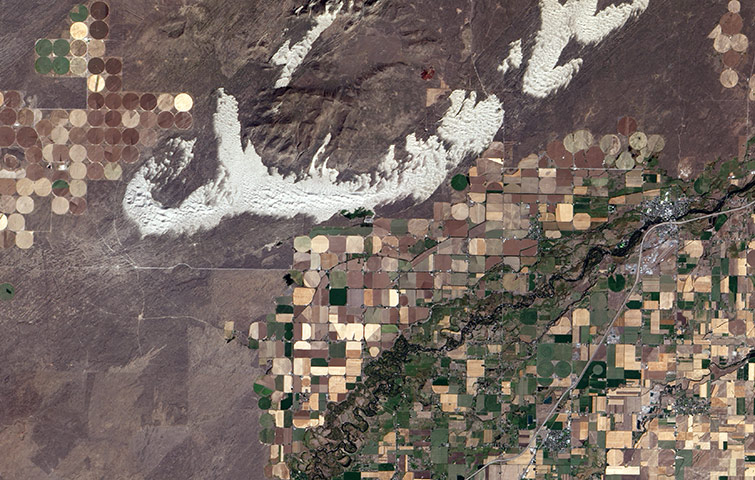 Agricultural Pattern: St Anthony, Idaho