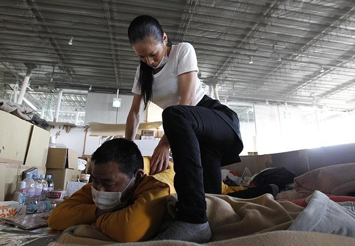 Earthquake Massage