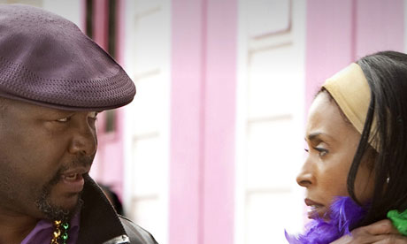 Wendell Pierce as Antoine and Khandi Alexander as Ladonna in episode eight of Treme