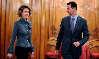 Asma and Bashar al-Assad