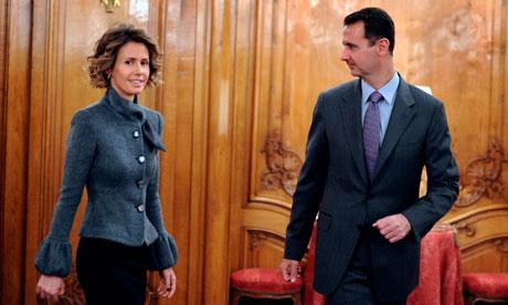 Pendant ce temps, à quoi pense Asma el-Assad ...