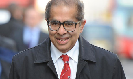 Former Home Office pathologist Dr Freddy Patel arrives to give evidence to the Ian Tomlinson inquest