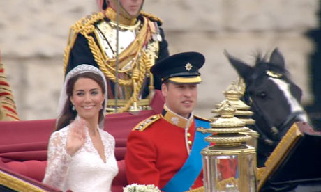 Royal Wedding - waving