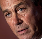 House Speaker John Boehner Discusses Budget Bill