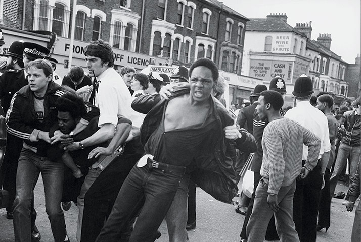 Brixton Riots In Pictures Uk News The Guardian