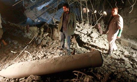 Saif al-Arab Gaddafi's home