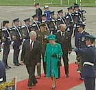 The Queen arrives in Ireland