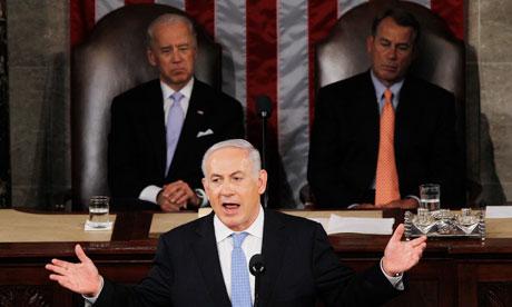 Israel's PM Binyamin Netanyahu addresses US Congress