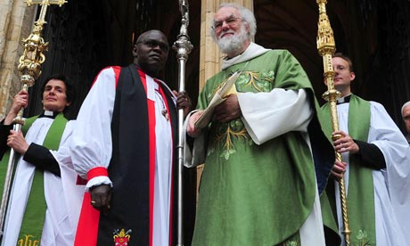 Archbishops John Sentamu and Rowan Williams