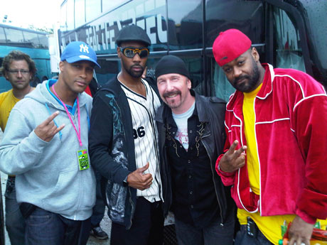 Wu Tang Clan meet The Edge.