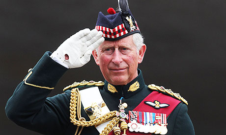Prince Charles Attends Drumhead Service in Edinburgh