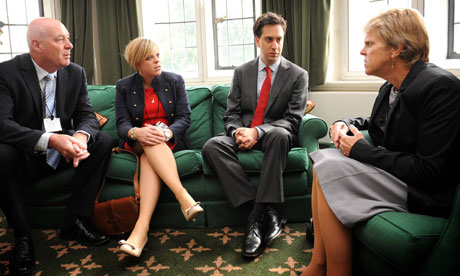 Ed Miliband meets the family of murdered schoolgirl Milly Dowler