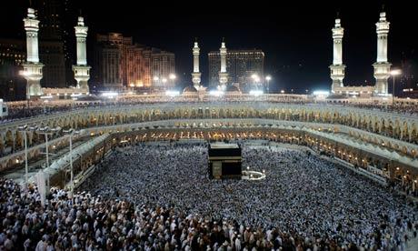 Hajj pilgrims in Mecca