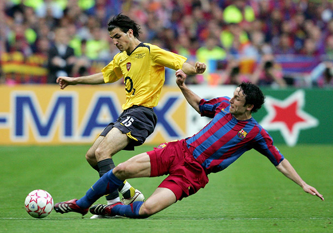SoccerNet Nigeria:Barcelona defeated Arsenal 2-1 in the Champions League Final