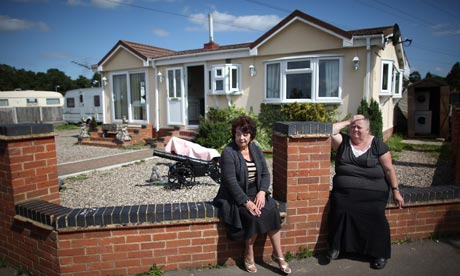Travellers Dale Farm Await Eviction