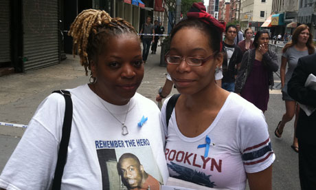 Kyra Houston and Merrell Coles, whose uncle Uhuru died on 9/11