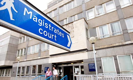 A magistrates court