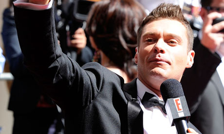 Ryan Seacrest at the Emmy Awards in Los Angeles