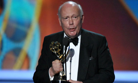 Julian Fellowes at the 2011 Emmy awards in Los Angeles