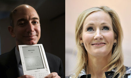 Books power 100 - Jeff Bezos and JK Rowling