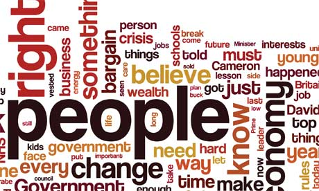 Ed Miliband labour conference speech wordle