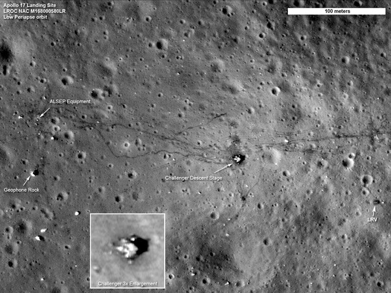 moon landing site junk - photo #2