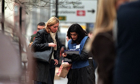Poll: Are 'chuggers' damaging public support for charities ...