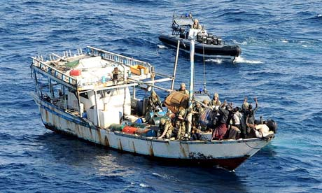 Navy captures Somali pirates in Indian Ocean | World news ...
