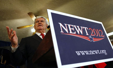 Newt Gingrich in Warrenville