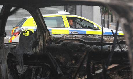 Riots in Tottenham Hale