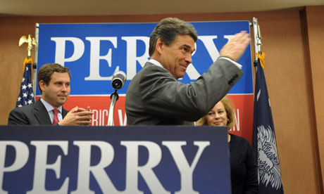 Rick Perry drops out of the Republican race