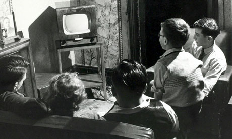 Tv Viewing Peaks At Four Hours A Day Media The Guardian