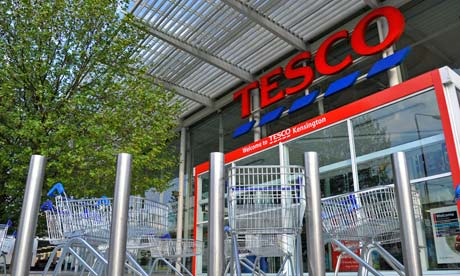 Tesco store in west London