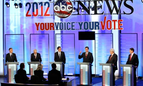 The Republican presidential debate in New Hampshire