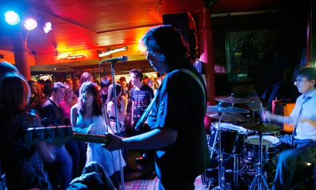 Live music show at the Cavern pub