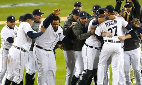 Detroit Tigers are going to the World Series