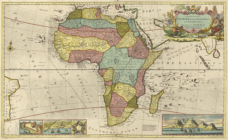 Africa Mapped How Europe Drew A Continent Richard Hartley: Map Of Africa 1800s At Infoasik.co