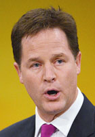 Hairy Nick Clegg